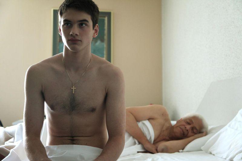 Gerontophilia: Walter Borden in una scena del film con Pier Gabriel Lajoie