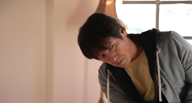 Moebius: Cho Jae-hyun in una scena del film