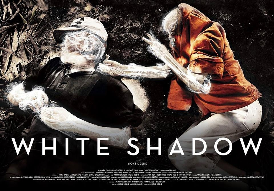 White Shadow: il poster orizzontale del film