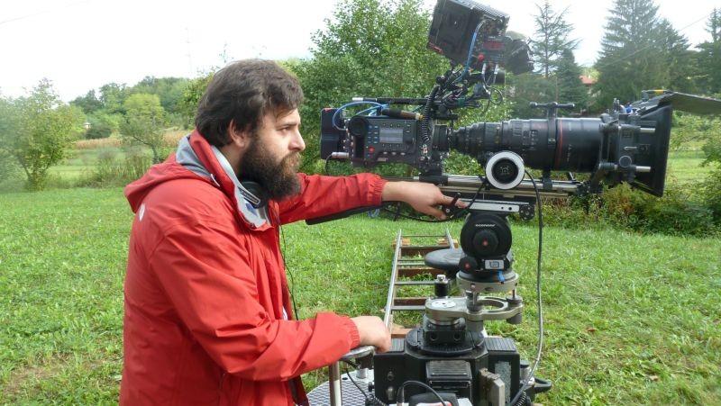 Zoran, il mio nipote scemo: il regista Matteo Oleotto sul set