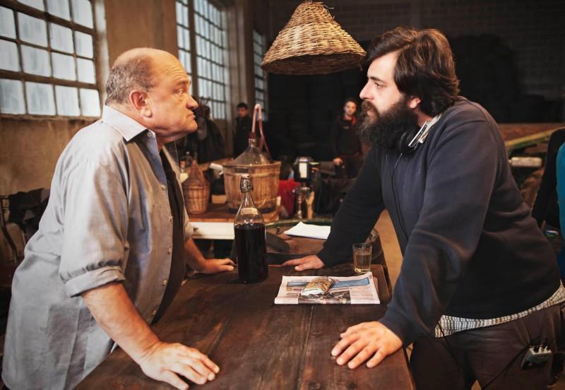 Zoran, il mio nipote scemo: il regista Matteo Oleotto sul set con Teco Celio