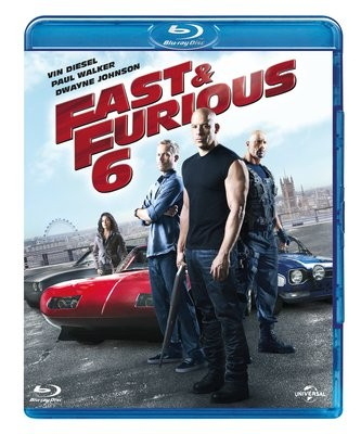 La copertina di Fast and Furious 6 (blu-ray)