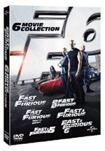 La copertina di Fast and Furious 6 Movie Collection (dvd)