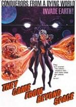 La copertina di La morte scarlatta viene dallo spazio (dvd)