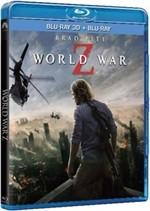 La copertina di World War Z 3D (blu-ray)