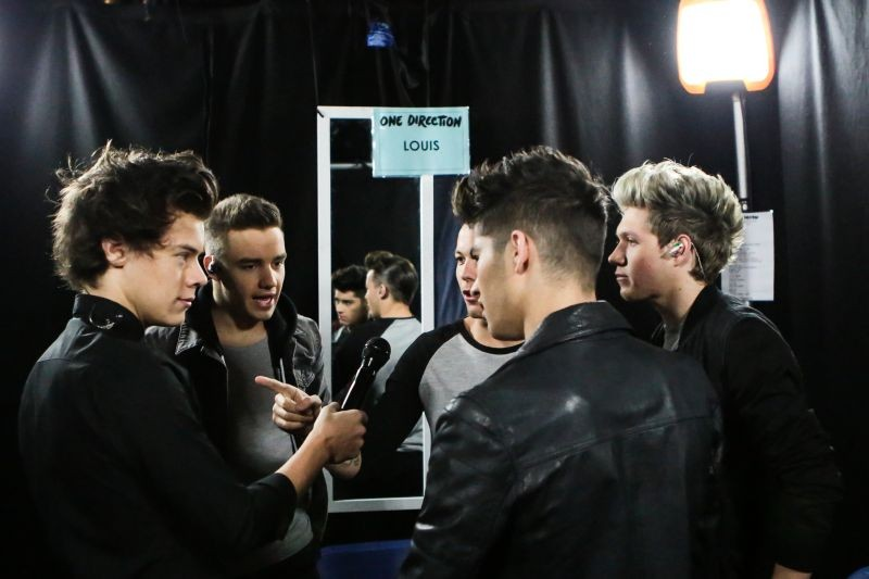 One Direction: This is Us, gli 'One Direction' in una scena del film