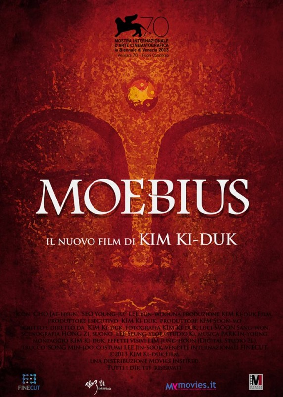 Moebius: la locandina italiana