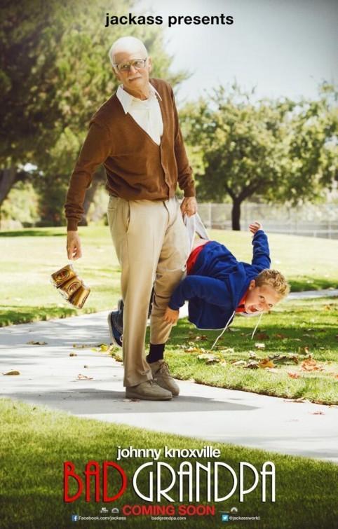 Bad Grandpa: nuovo poster USA