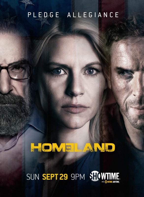 Homeland: un poster della stagione 3