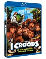 La copertina di I Croods (blu-ray)