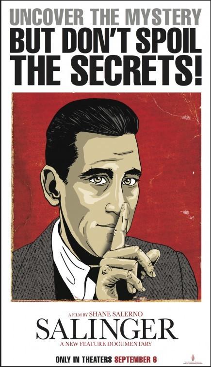 Salinger: nuovo poster del documentario