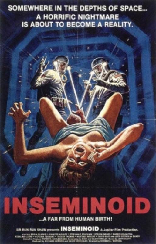 Inseminoid - Un tempo nel futuro: la locandina del film