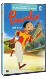 La copertina di Pinocchio (2012) (dvd)