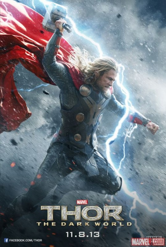 Thor: The Dark World, il character poster di Chris Hemsworth