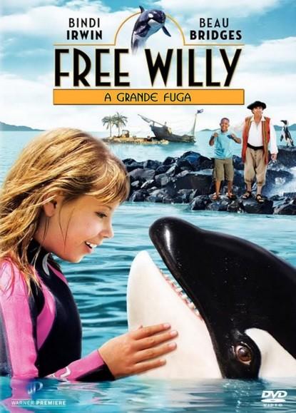 Free willy - la grande fuga: la locandina del film