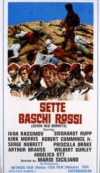 Sette baschi rossi: la locandina del film