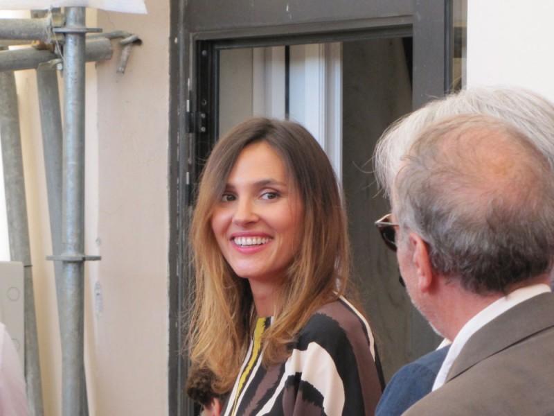 Venezia 2013 - la bellissima e sorridente Virginie Ledoyen