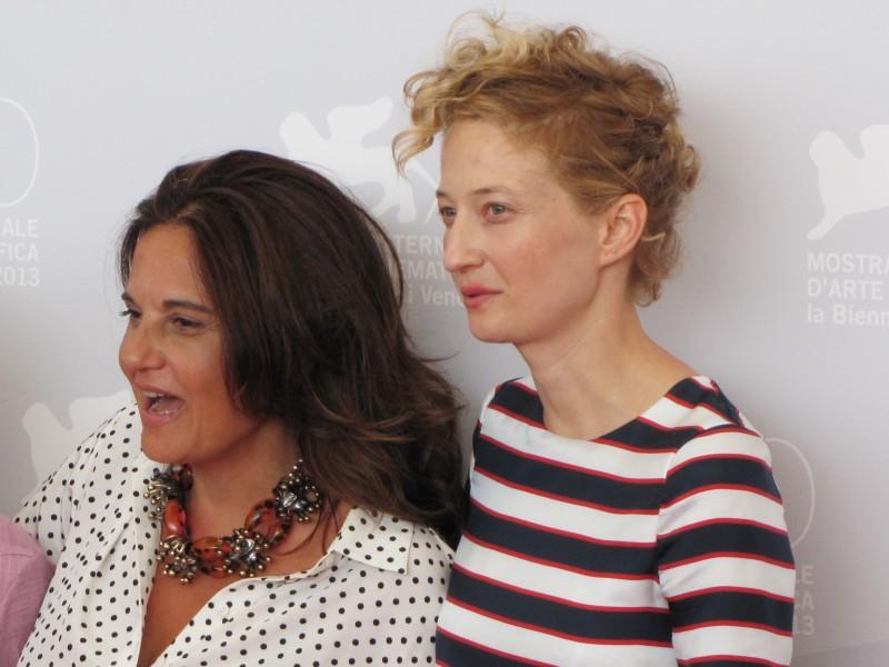 Emma Dante e Alba Rohrwacher alla Mostra di Venezia 2013 con Via Castellana Bandiera