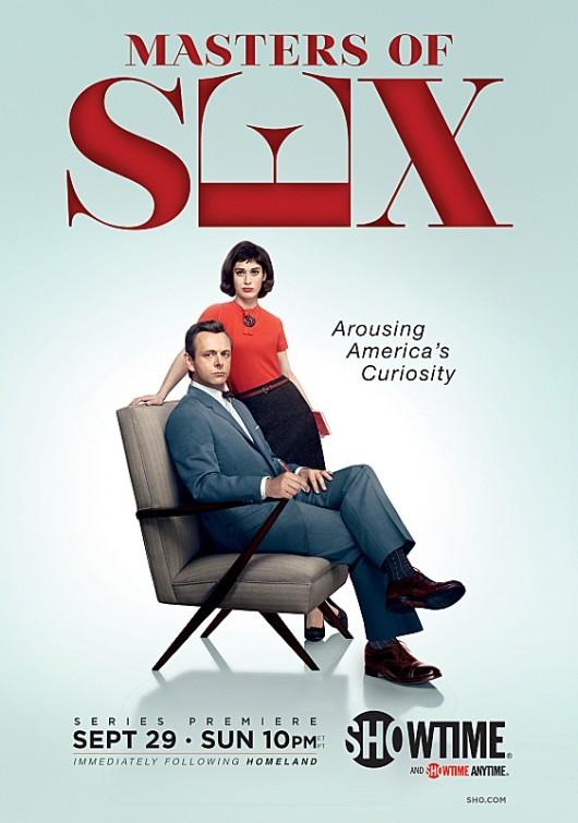 La locandina di Masters of Sex
