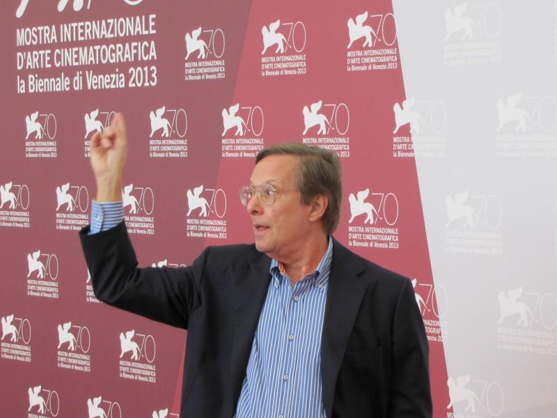 Venezia 2013 - William Friedkin alla Mostra del Cinema, che gli ha assegnato il Leone d'Oro alla carriera