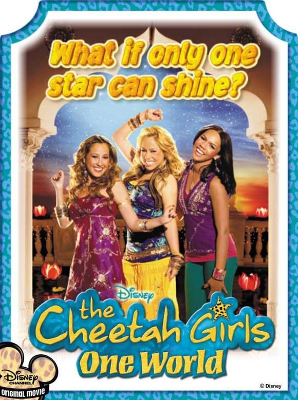 Cheetah Girls 3 - Alla conquista del mondo: la locandina del film