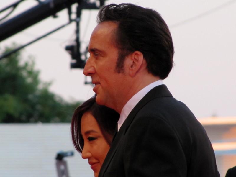 Nicolas Cage presenta 'Joe' sul tappeto rosso della Mostra di Venezia 2013