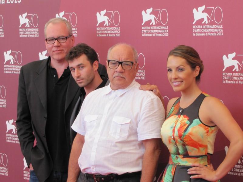 The Canyons a Venezia 2013 - Paul Schrader con Bret Easton Ellis, James Deen e Tenille Houston