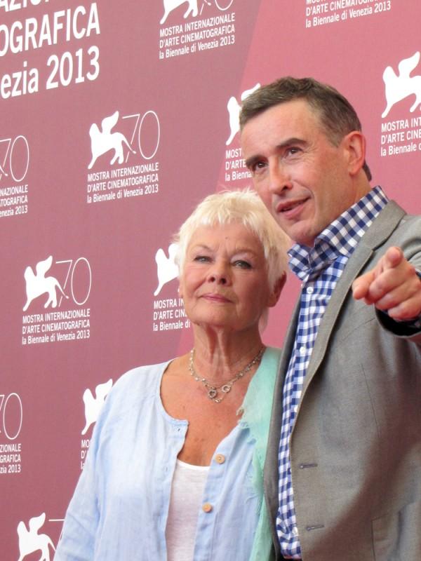 Philomena: Judi Dench e Steve Coogan presentano il film a Venezia, nel 2013
