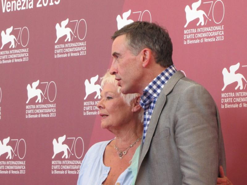 Philomena: Judi Dench e Steve Coogan presentano il film alla Mostra di Venezia 2013