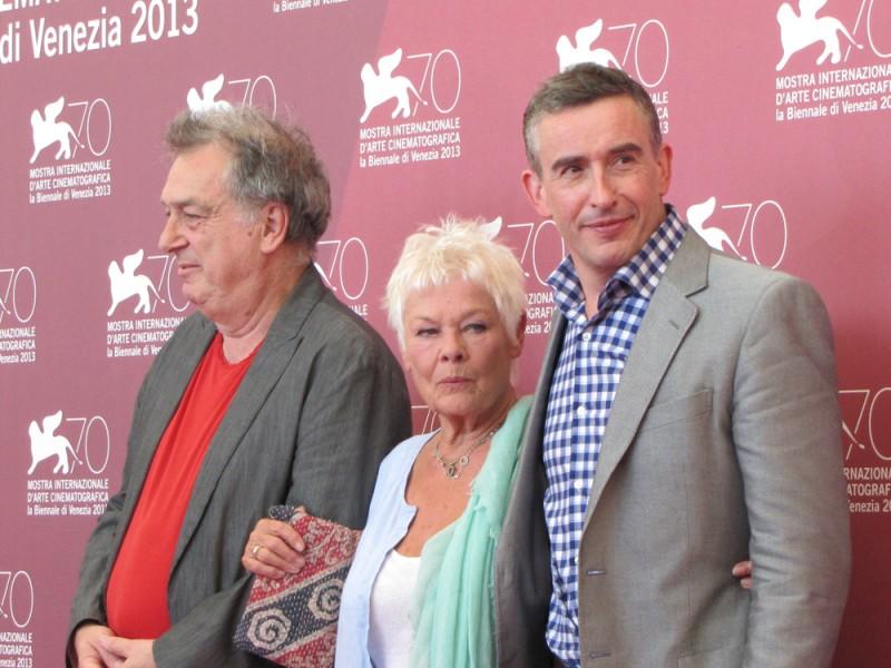 Philomena: Stephen Frears con Judi Dench e Steve Coogan presentano il film a Venezia, nel 2013