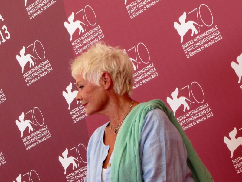 Venezia 2013 - Judi Dench presenta 'Philomena'