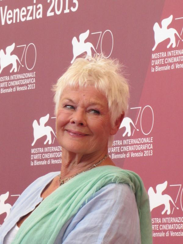 Venezia 2013 - Judi Dench presenta 'Philomena', di cui è protagonista