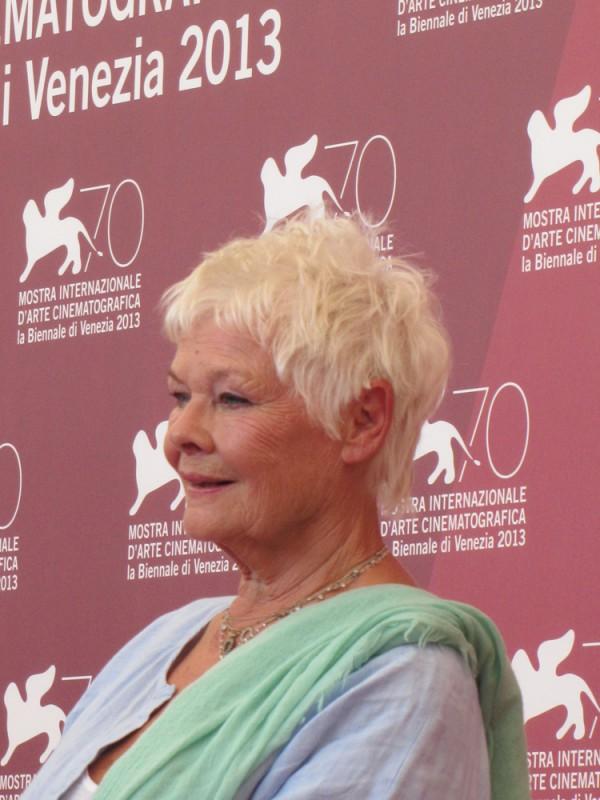 Venezia 2013 - Judi Dench presenta 'Philomena' di Stephen Frears di cui è protagonista