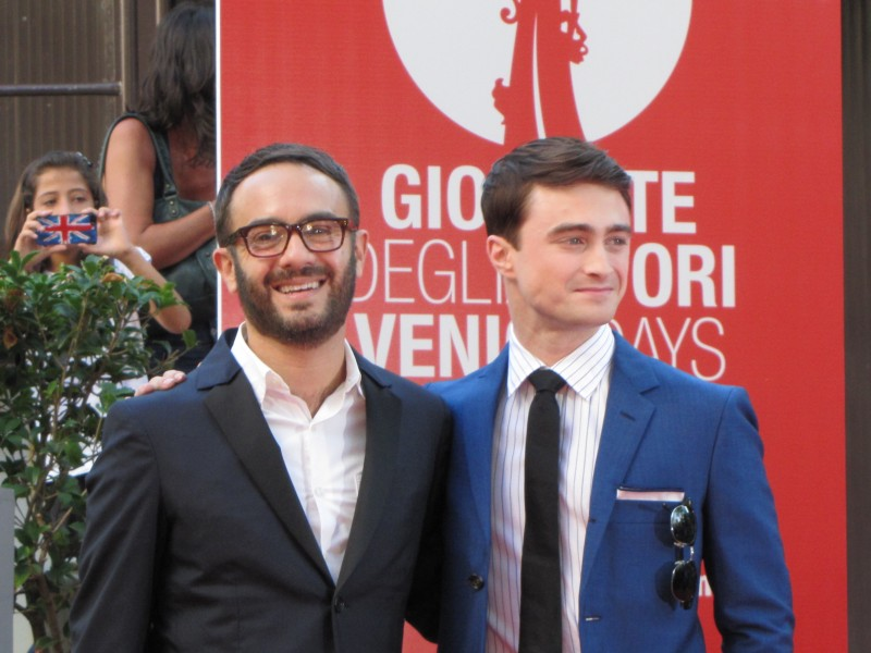 Daniel Radcliffe e John Krokidas presentano  Kill Your Darlings a Venezia 2013, per le Giornate degli Autori