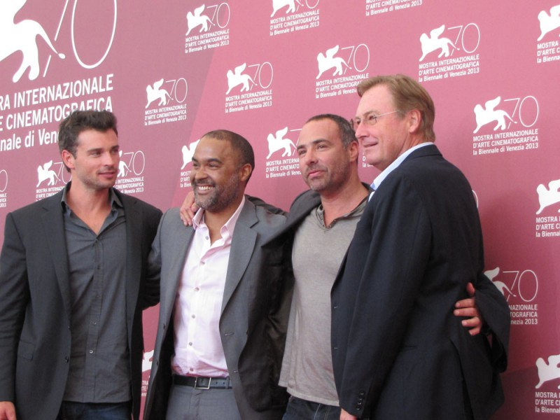Parkland a Venezia 2013: Tom Welling, Guy East, Matt Jackson e Peter Landesman