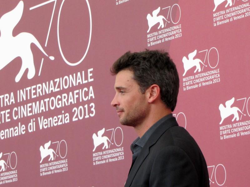 Tom Welling presenta Parkland alla Mostra di Venezia, nel 2013