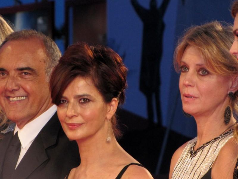 Venezia 2013 - Margherita Buy e Laura Morante sul red carpet del Premio Kineo