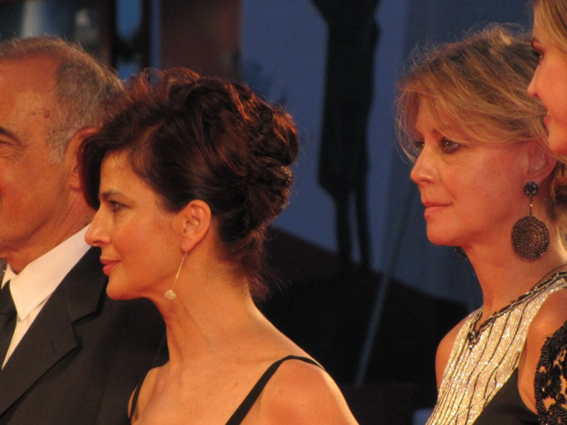Venezia 2013 - Margherita Buy e Laura Morante sul tappeto rosso del Premio Kineo