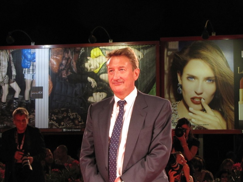 Locke: il regista Steven Knight presenta il film a Venezia 2013, sul red carpet