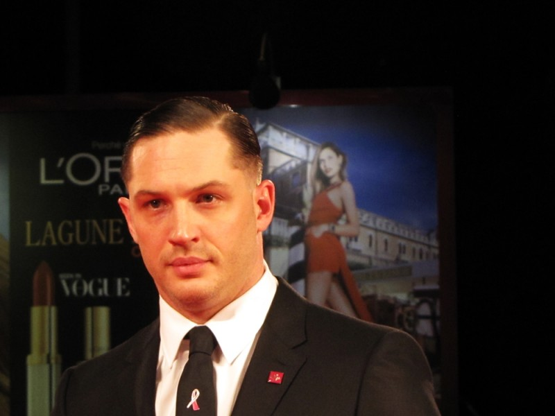 Locke: Tom Hardy presenta il film a Venezia 2013, sul red carpet