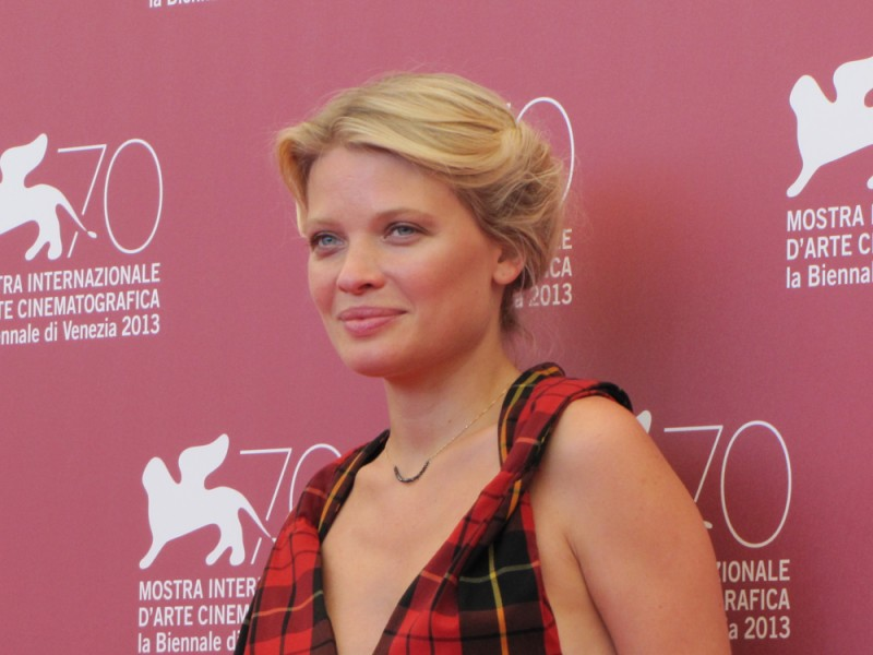 Melanie Thierry presenta The Zero Theorem alla Mostra di Venezia 2013