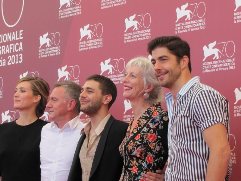Tom à la Ferme: Xavier Dolan presenta il film a Venezia 2013 con Pierre Yves Cardinal, Lise Roy, Evelyne Brochu e Michel Marc Bouchard
