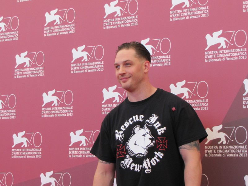 Tom Hardy presenta il thriller-drama Locke a Venezia 2013