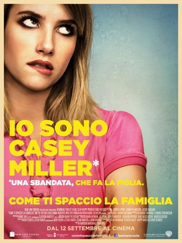 Come ti spaccio la famiglia: il character poster italiano di Emma Roberts