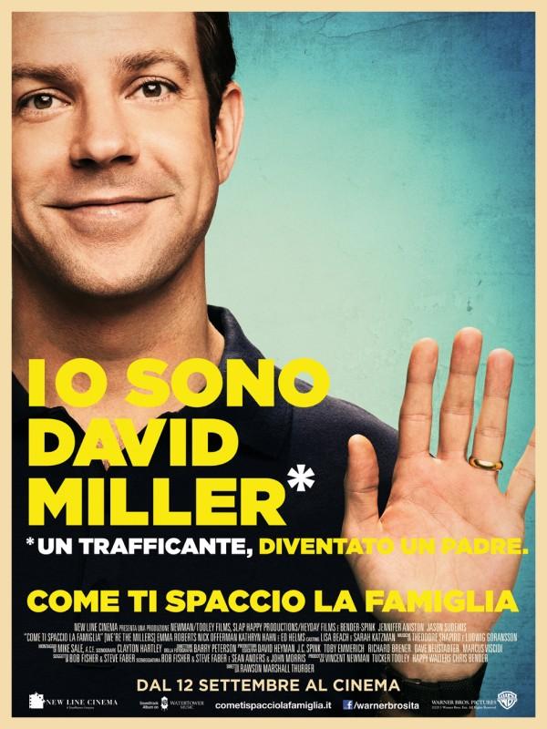 Come ti spaccio la famiglia: il character poster italiano esclusivo di Jason Sudeikis