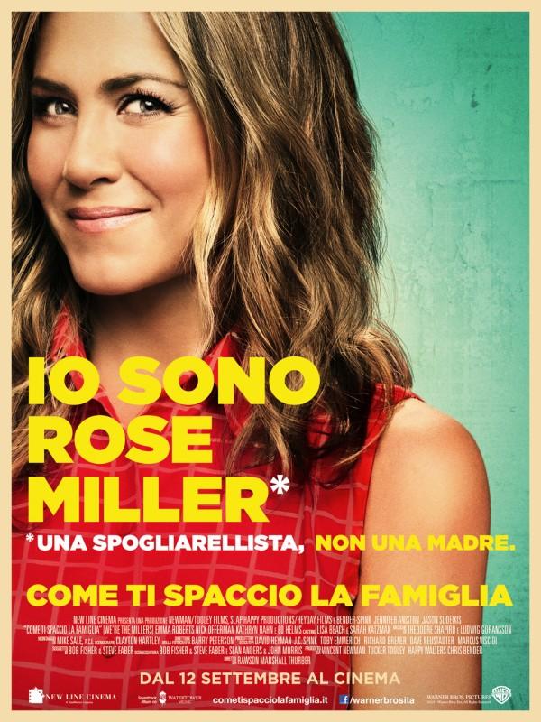 Come ti spaccio la famiglia: il character poster italiano esclusivo di Jennifer Aniston