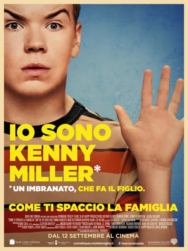 Come ti spaccio la famiglia: il character poster italiano esclusivo di Will Poulter