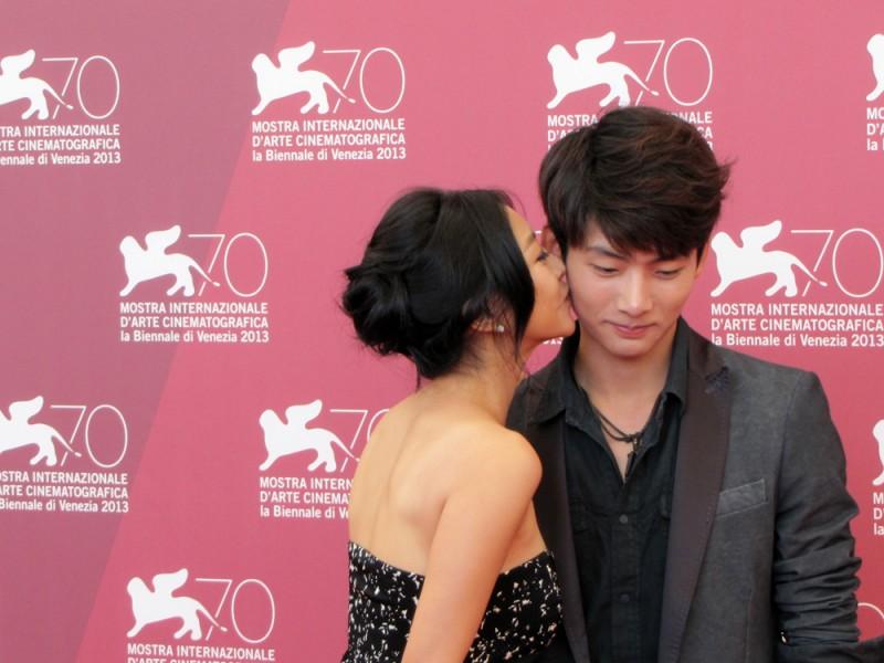 Moebius: Seo Young-ju con Lee Eun-woo presenta il film alla 70esima Mostra di Venezia, nel 2013