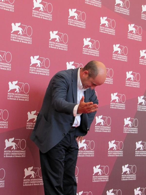 Antonio Albanese presenta 'L'intrepido' a Venezia 2013