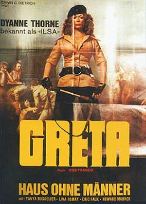 Greta, la donna bestia: la locandina del film